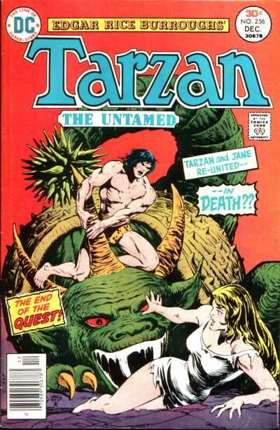 Tarzan #256 comic books - cover scans photos Tarzan #256 comic books - covers, picture gallery