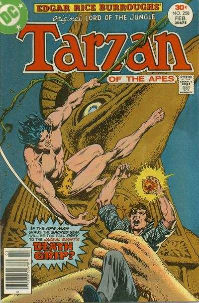 Tarzan #258 comic books - cover scans photos Tarzan #258 comic books - covers, picture gallery