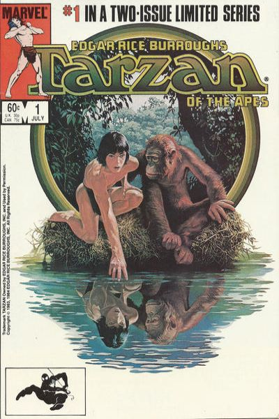 Tarzan of the Apes comic books