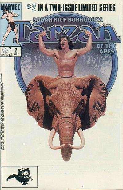 Tarzan of the Apes #2 comic books - cover scans photos Tarzan of the Apes #2 comic books - covers, picture gallery