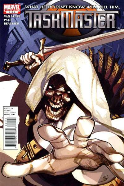 Taskmaster comic books