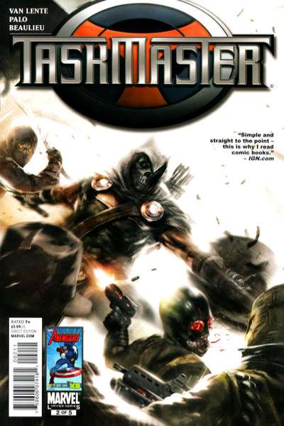 Taskmaster #2 comic books - cover scans photos Taskmaster #2 comic books - covers, picture gallery