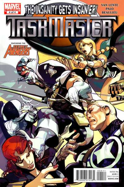 Taskmaster #4 Comic Books - Covers, Scans, Photos  in Taskmaster Comic Books - Covers, Scans, Gallery
