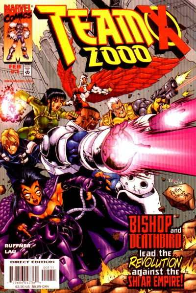 Team X 2000 #1 comic books - cover scans photos Team X 2000 #1 comic books - covers, picture gallery