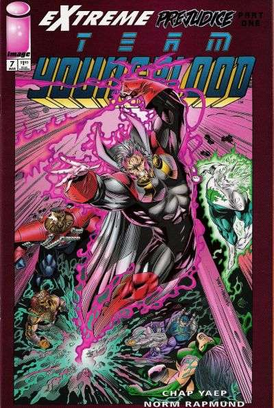 Team Youngblood #7 comic books for sale