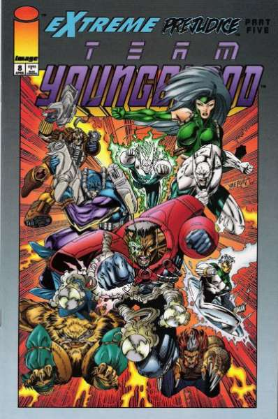 Team Youngblood #8 comic books for sale