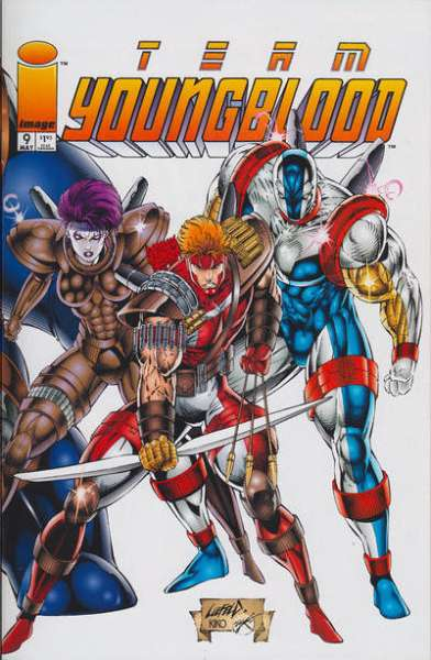 Team Youngblood #9 comic books for sale