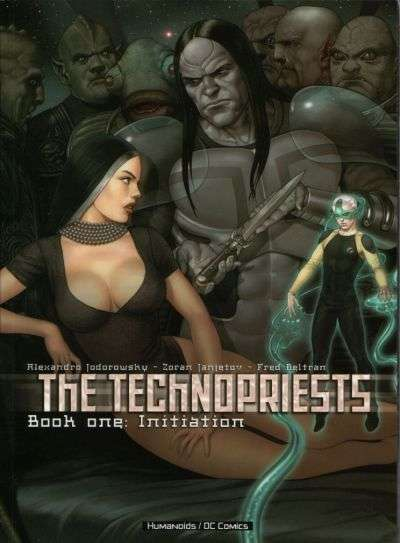Technopriests comic books
