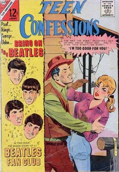 Teen Confessions #37 comic books for sale