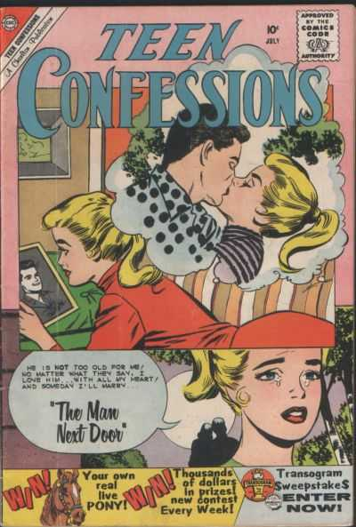 Teen Confessions #6 Comic Books - Covers, Scans, Photos  in Teen Confessions Comic Books - Covers, Scans, Gallery