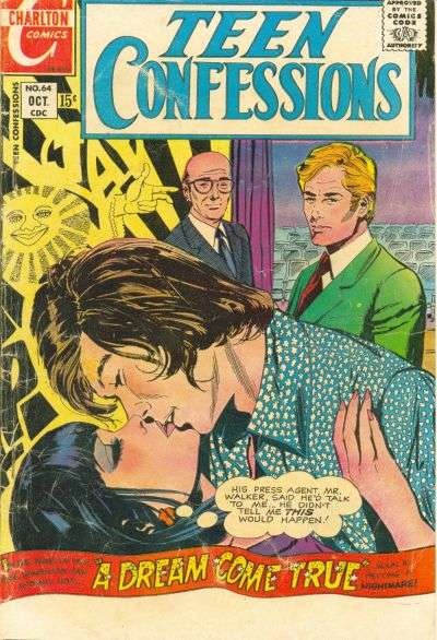 Teen Confessions #64 comic books - cover scans photos Teen Confessions #64 comic books - covers, picture gallery