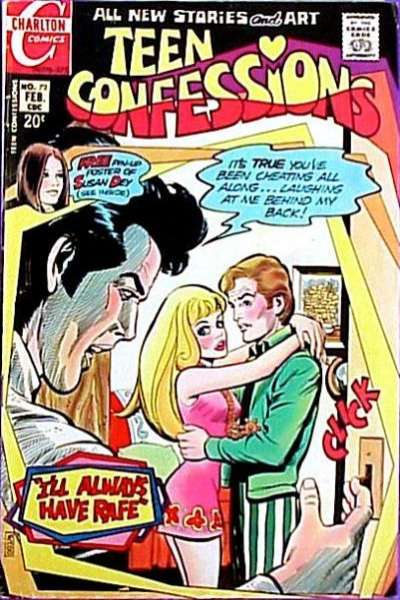 Teen Confessions #72 comic books - cover scans photos Teen Confessions #72 comic books - covers, picture gallery