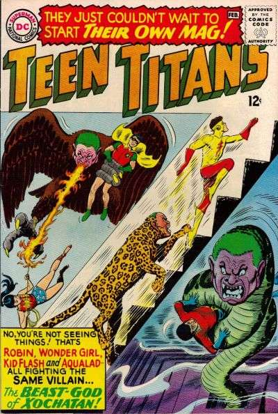 Teen Titans #1 Comic Books - Covers, Scans, Photos  in Teen Titans Comic Books - Covers, Scans, Gallery