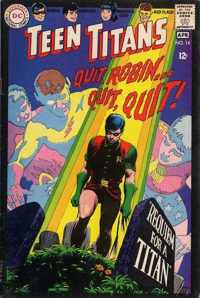 Teen Titans #14 comic books for sale