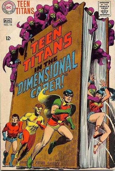 Teen Titans #16 comic books for sale
