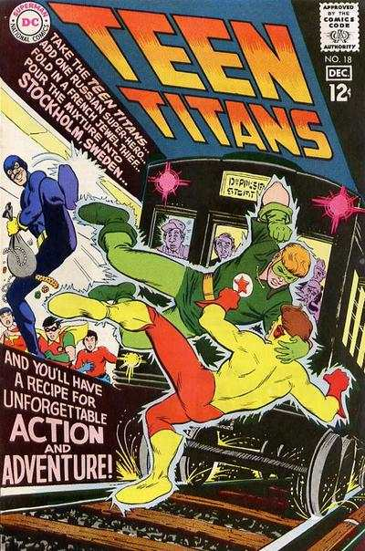 Teen Titans #18 Comic Books - Covers, Scans, Photos  in Teen Titans Comic Books - Covers, Scans, Gallery
