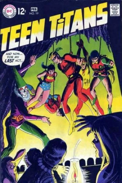 Teen Titans #19 comic books for sale
