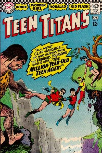 Teen Titans #2 Comic Books - Covers, Scans, Photos  in Teen Titans Comic Books - Covers, Scans, Gallery
