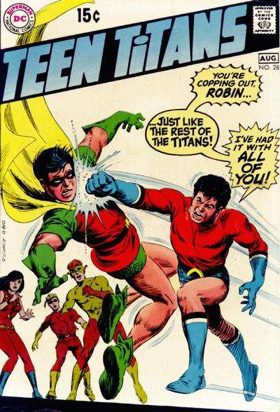 Teen Titans #28 comic books for sale