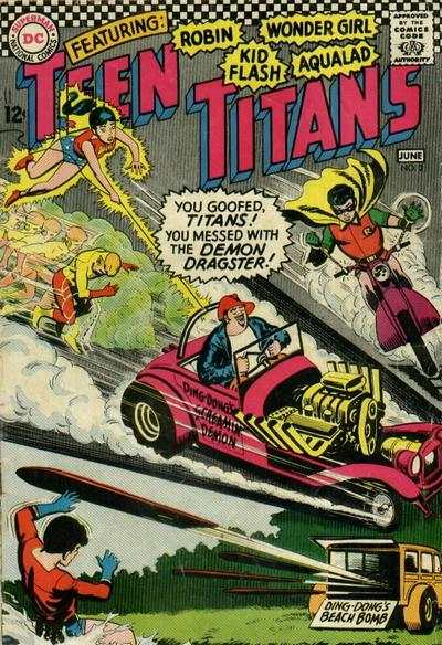 Teen Titans #3 Comic Books - Covers, Scans, Photos  in Teen Titans Comic Books - Covers, Scans, Gallery