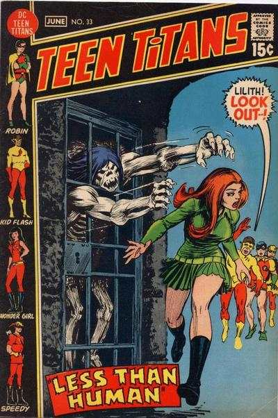 Teen Titans #33 comic books for sale