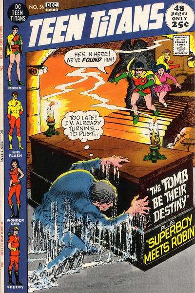 Teen Titans #36 comic books for sale