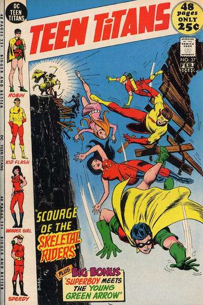 Teen Titans #37 comic books for sale