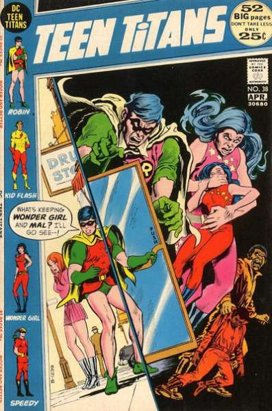 Teen Titans #38 comic books for sale