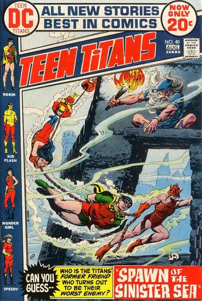 Teen Titans #40 comic books for sale