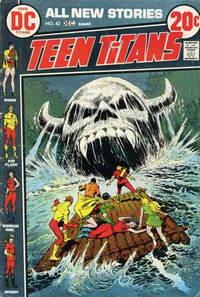 Teen Titans #42 comic books for sale