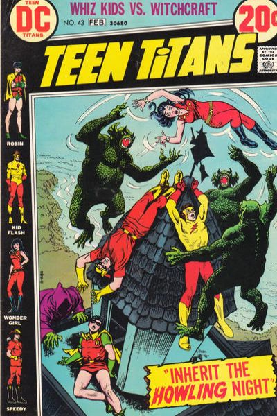 Teen Titans #43 comic books for sale