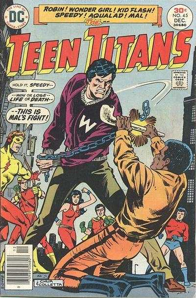 Teen Titans #45 comic books for sale