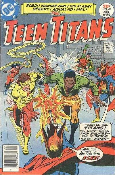 Teen Titans #47 comic books for sale