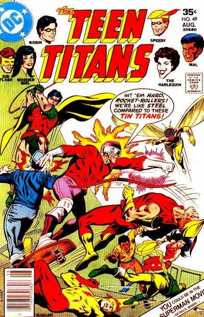 Teen Titans #49 comic books for sale