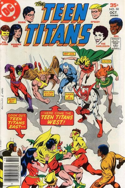 Teen Titans #50 comic books for sale