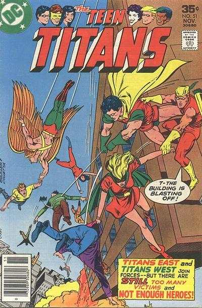 Teen Titans #51 comic books for sale