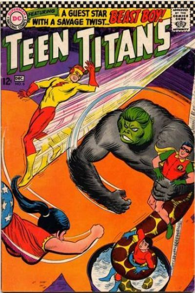 Teen Titans #6 Comic Books - Covers, Scans, Photos  in Teen Titans Comic Books - Covers, Scans, Gallery