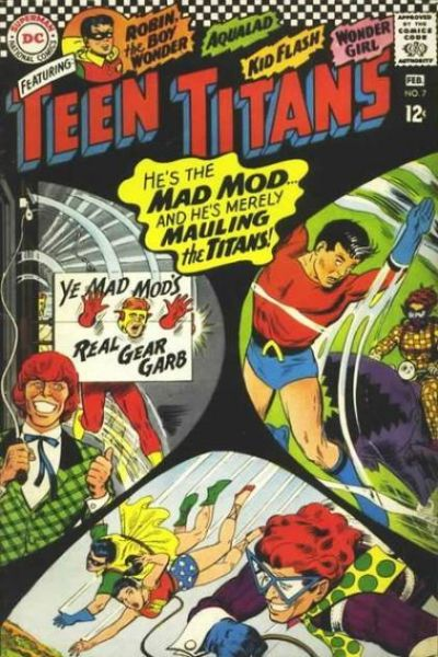 Teen Titans #7 comic books for sale