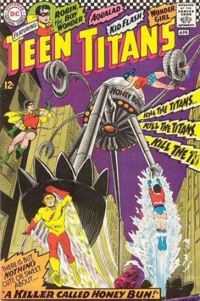 Teen Titans #8 Comic Books - Covers, Scans, Photos  in Teen Titans Comic Books - Covers, Scans, Gallery