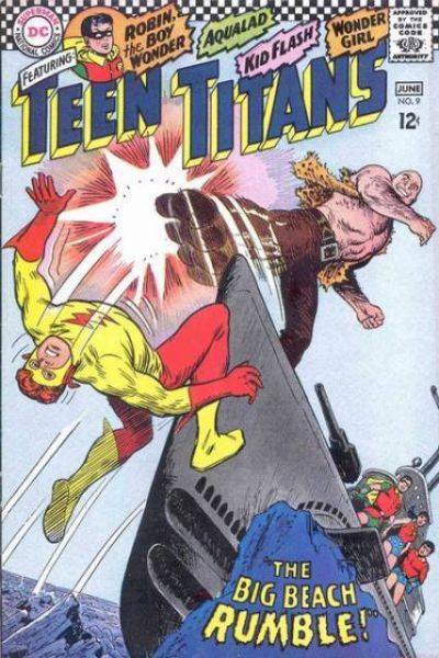 Teen Titans #9 Comic Books - Covers, Scans, Photos  in Teen Titans Comic Books - Covers, Scans, Gallery