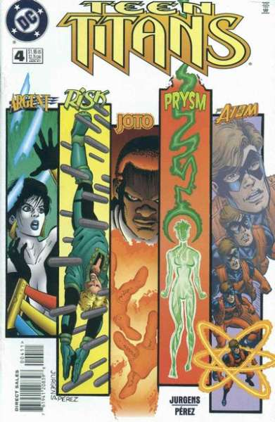 Teen Titans #4 comic books for sale