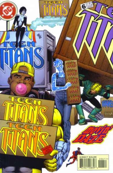 Teen Titans #6 comic books for sale