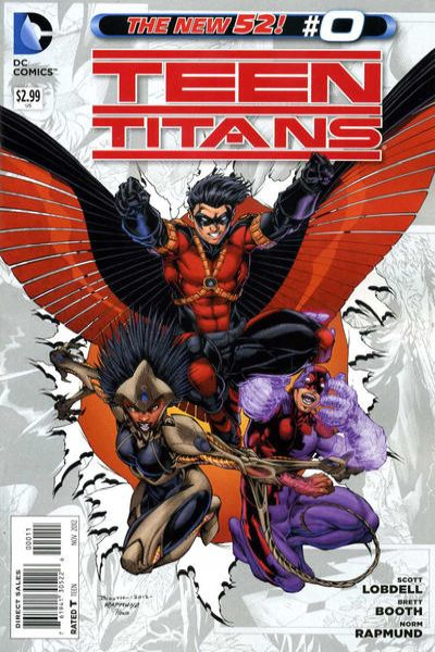 Teen Titans #0 comic books - cover scans photos Teen Titans #0 comic books - covers, picture gallery
