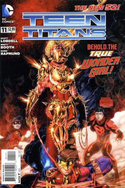 Teen Titans #11 comic books - cover scans photos Teen Titans #11 comic books - covers, picture gallery