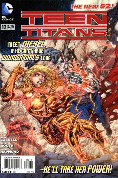 Teen Titans #12 comic books for sale