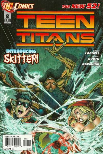 Teen Titans #2 comic books - cover scans photos Teen Titans #2 comic books - covers, picture gallery