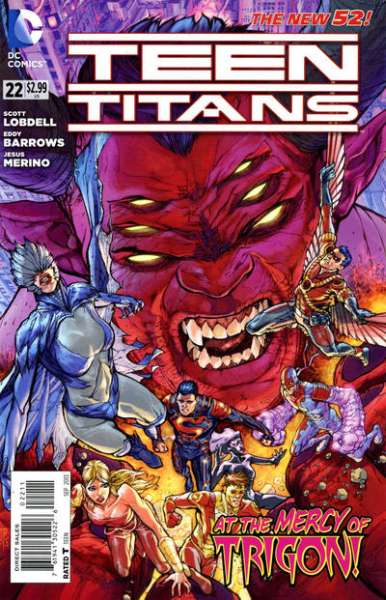 Teen Titans #22 comic books for sale