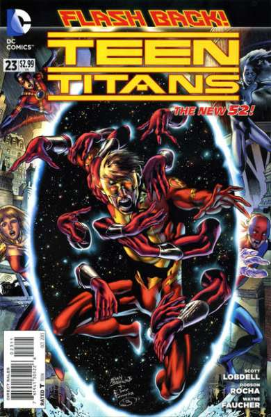 Teen Titans #23 comic books - cover scans photos Teen Titans #23 comic books - covers, picture gallery