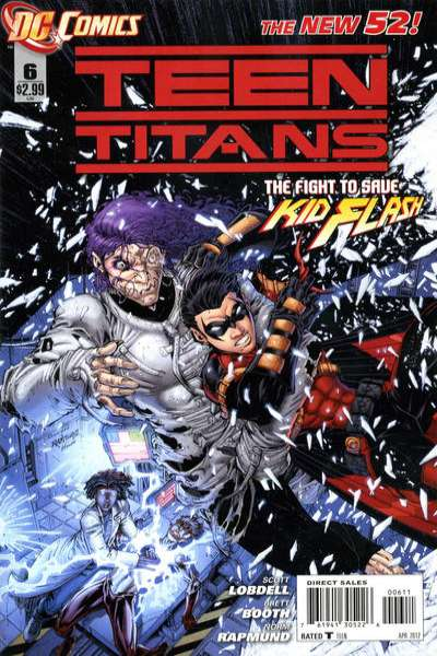 Teen Titans #6 comic books - cover scans photos Teen Titans #6 comic books - covers, picture gallery