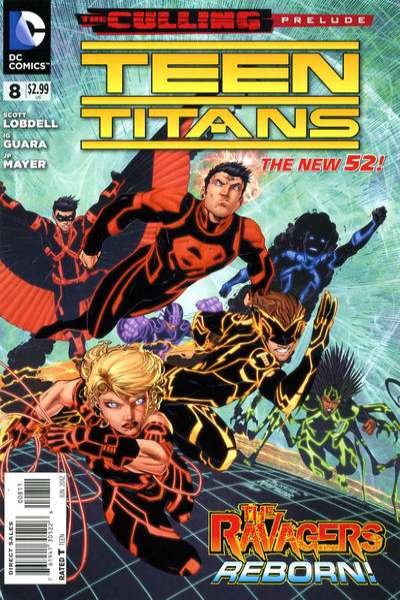 Teen Titans #8 comic books - cover scans photos Teen Titans #8 comic books - covers, picture gallery